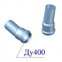 Отвод напорный ПВХ 400х11 гр.