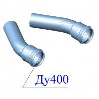 Отвод напорный ПВХ 400х30 гр.