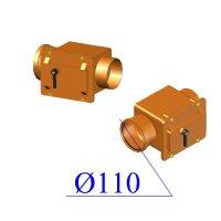 Клапан обратный ПВХ для наружной канализации 110