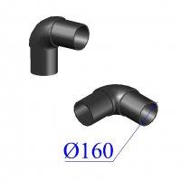 Отвод ПНД литой D 160 х90 гр. ПЭ 100 SDR 11