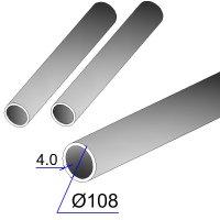 Труба бесшовная 108х4 сталь 20