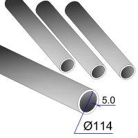 Труба бесшовная 114х5 сталь 20
