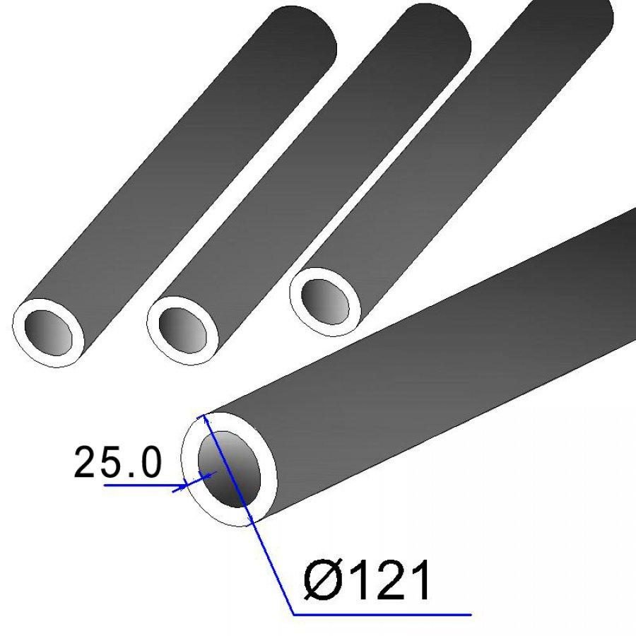Труба бесшовная 121х25 сталь 35