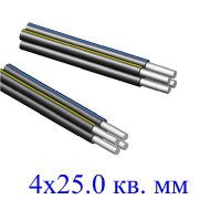 Провод СИП-4 4х25,0 кв.мм
