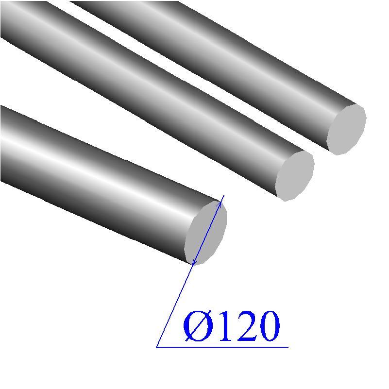 Круг 120 мм сталь 35