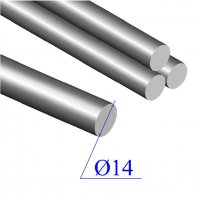 Круг диаметр 14 мм сталь 40Х