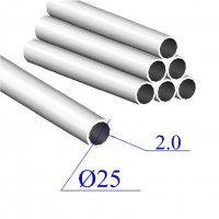 Трубы нержавеющие электросварные сталь 12Х18Н9 25х2