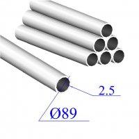 Трубы нержавеющие электросварные сталь 08Х18Н10Т 89х2.5