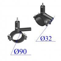 Вентиль ПНД D 90х32 ПЭ 100 SDR 11