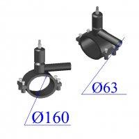 Вентиль ПНД D 160х63 ПЭ 100 SDR 11