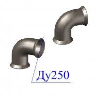 Колено раструбное УР D 250 ВЧШГ