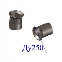 Отвод раструб-гладкий конец ОРГ D 250 х10 гр. ВЧШГ