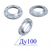 Фланцы 100-10 стальные воротниковые