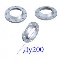 Фланцы 200-16 стальные воротниковые