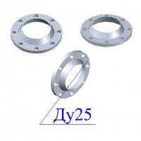 Фланцы 25-25 стальные воротниковые
