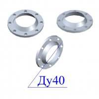 Фланцы 40-40 стальные воротниковые