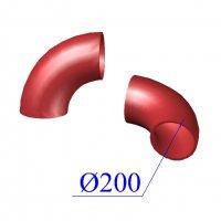Отвод SML D 200 х88 гр. чугунный