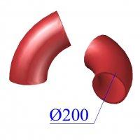 Отвод SML D 200 х68 гр. чугунный