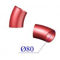 Отвод SML D 80 х30 гр. чугунный