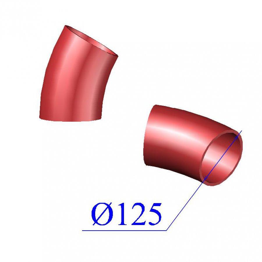 Отвод SML D 125 х30 гр. чугунный