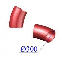 Отвод SML D 300 х30 гр. чугунный