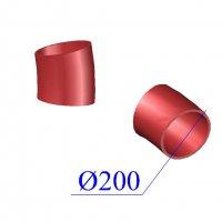 Отвод SML D 200 х15 гр. чугунный
