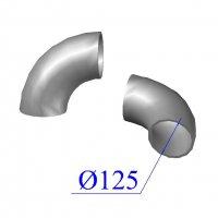 Отвод KML D 125 х88 гр. чугунный