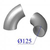 Отвод KML D 125 х68 гр. чугунный