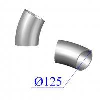 Отвод KML D 125 х30 гр. чугунный