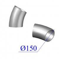 Отвод KML D 150 х30 гр. чугунный