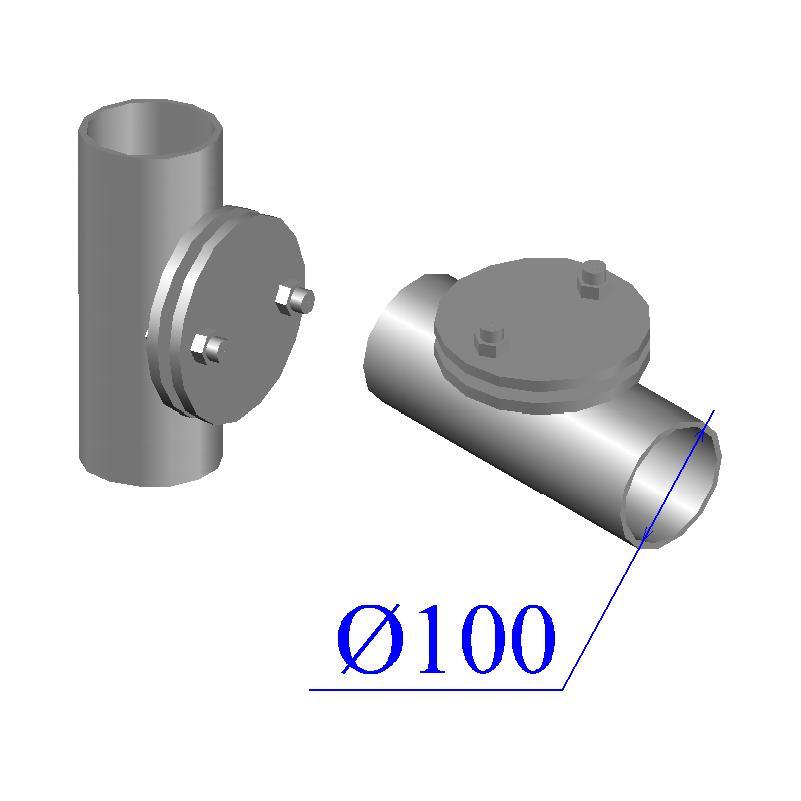 Ревизия KML D 100 круглая чугунная
