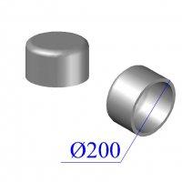 Заглушка KML D 200 чугунная