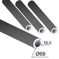 Труба бесшовная 68х16 сталь 45