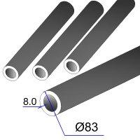 Труба бесшовная 83х8 сталь 45