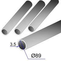 Труба бесшовная 89х3,5 сталь 20