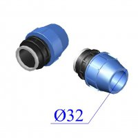 Муфта ПНД компрессионная D 32х1