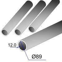 Труба бесшовная 89х12 сталь 20