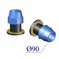 Фланец ПНД компрессионный D 90х4