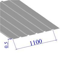 Профнастил окрашенный RAL 9002 С10 0.5х1100