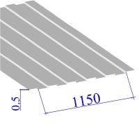 Профнастил окрашенный RAL 9003 С8 0.5х1150