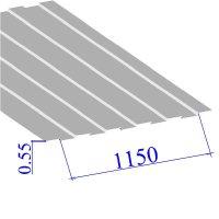 Профнастил окрашенный RAL 9003 С8 0.55х1150