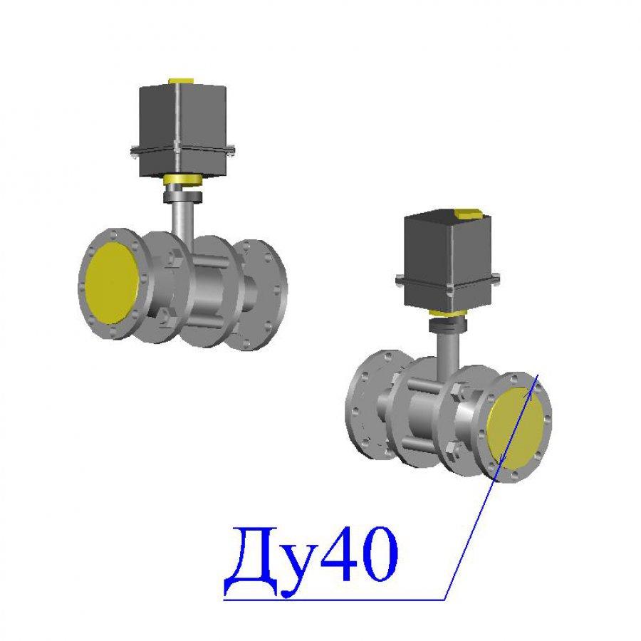 Кран 11с967п Ду 40 с электроприводом