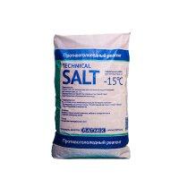 Реагент противогололедный Technical SALT (Соль техническая) Ratmix